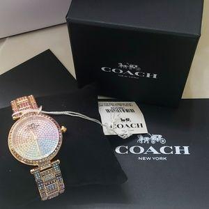 COPY - NWT Coach Swarovski Crystal Watch